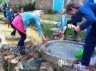 Spelen en tuinieren bij de Wagenspeelplaats (elke dinsdag)